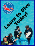 Learn to become a PADI Open Water Diver